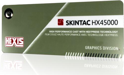 Kleurenwaaier Hexis Skintac HX45000 serie Swatchbook