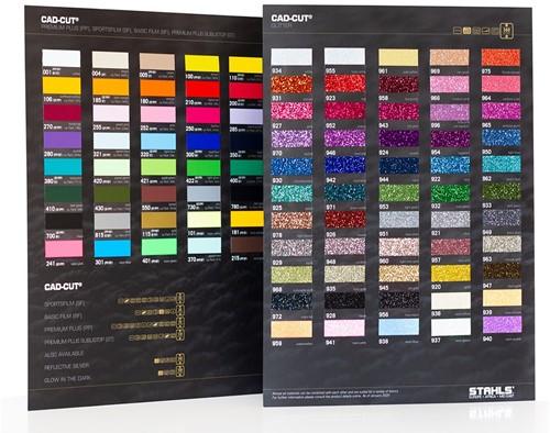 A4 Kleurkaart Stahls Flex