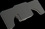 Hotronix Fusion Shoe Platen, 15 x 38cm