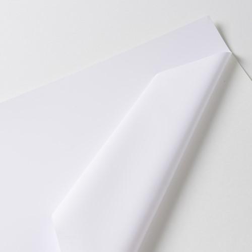 Hexis VCSR201WG1 Polymeer printmedia met versterkte lijmlaag 45m x 1600mm