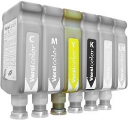 Versicolor fles 500ml. - Yellow