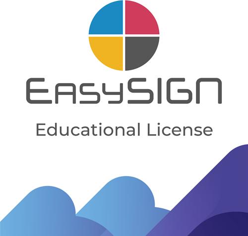 EasySIGN Educatie licentie 1 jaar