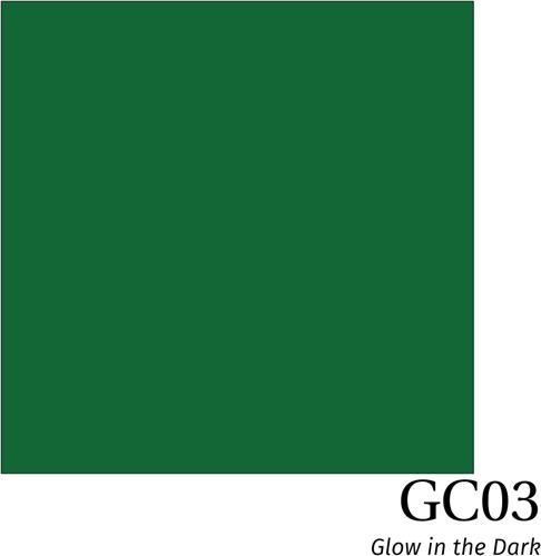 Hexis Glow in the dark film GC03 Green