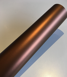 Hexis Skintac HX20661S Canyon Copper Metallic Satin 1520mm rol van 1,00 str.m.