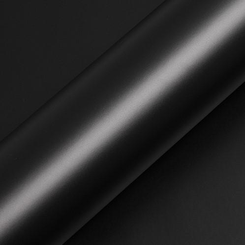 Hexis Suptac HXS5889M Coal Black matt, met HEX'PRESS schutvel 1230mm Afname per 5lm