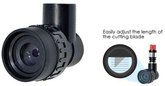Graphtec Loupe for adjustment of blade length