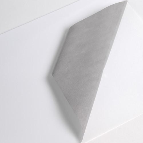 Gegoten PVC printmedia met grijze Hex'Press lijmlaag 45m x 1520mm rol van 45 meter
