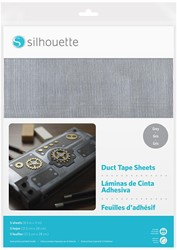Silhouette Duct Tape Sheets 5 sheets 21,5cm x 27,9cm Grey