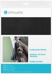 Silhouette Leatherette Sheets 3 sheets 21,5cm x 27,9cm