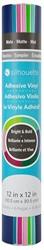 Silhouette Vinyl Sampler Pack Bright & Bold LTGRN,MNT,LTPNK,DKPNK,TEA,NAV