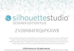 Silhouette Studio®Upgrade van DE+ naar BE-digitaal