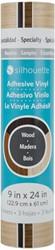 Silhouette Vinyl Sampler Pack 22,9cm x 60cm Wood