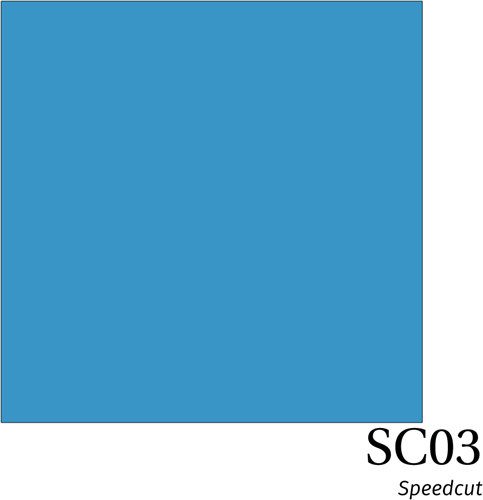 Speedcut SC03 Sky Blue