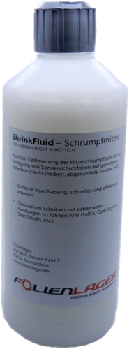 Krimpvloeistof, Shrinkfluid 450ml voor automotive