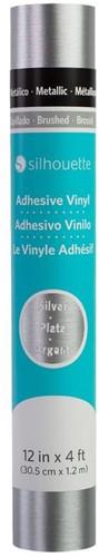 Silhouette Metallic Vinyl - Brushed Sliver