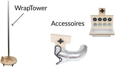 Yellotools WrapTowerBase incl tooltray en heteluchtpistoolhouder